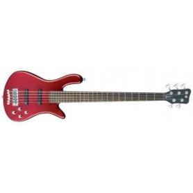 WARWICK ROCKBASS STREAMER LX 5 (METALLIC RED CHR) Бас-гитара фото