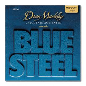 DEAN MARKLEY 2036 BLUESTEEL ACOUSTIC ML (12-54) Струны фото