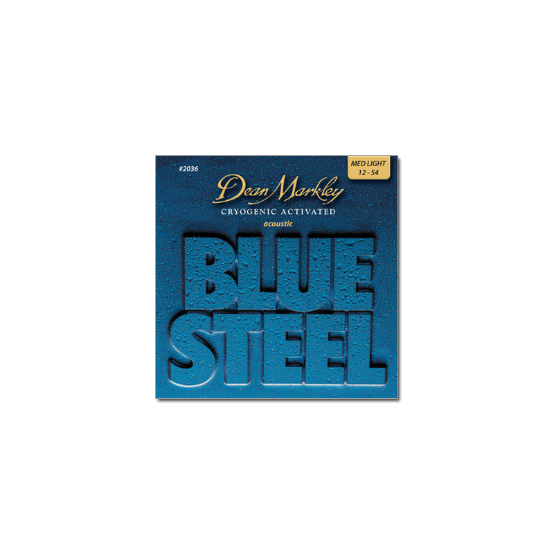 DEAN MARKLEY 2036 BLUESTEEL ACOUSTIC ML (12-54) Струны фото