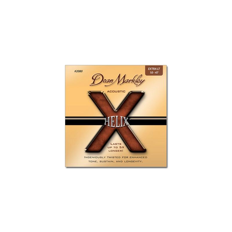 DEAN MARKLEY 2080 HELIX ACOUSTIC XL (10-47) Струны фото