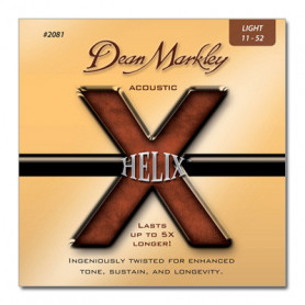 DEAN MARKLEY 2081 HELIX ACOUSTIC LT (11-52) Струны фото