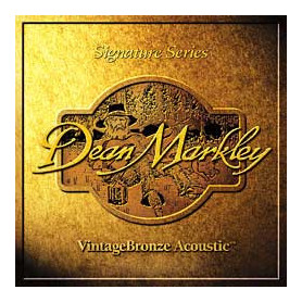 DEAN MARKLEY 2204 VINTAGE BRONZE ACOUSTIC ML12 (11-50) Струны фото