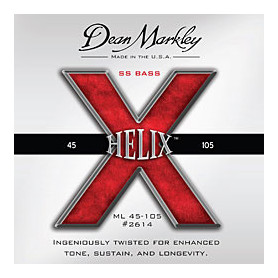 DEAN MARKLEY 2614 HELIX HD BASS SS ML (45-105) Струны фото
