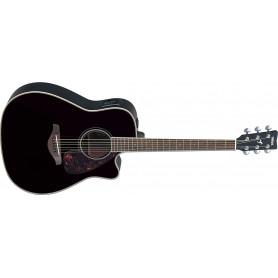 YAMAHA FGX720 SCA (BL) Электро-акустическая гитара фото