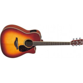YAMAHA FGX720 SCA (BS) Электро-акустическая гитара фото