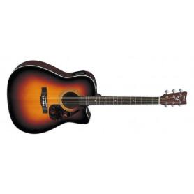 YAMAHA FX370C (TBS) Электро-акустическая гитара фото