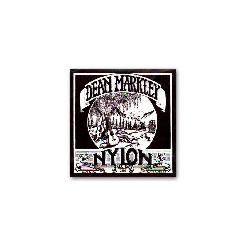 DEAN MARKLEY 2802 BALL END NYLON S&C Струны фото