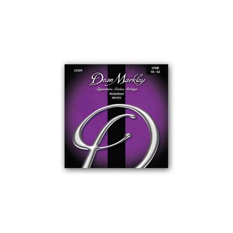 DEAN MARKLEY 2504 NICKELSTEEL ELECTRIC LTHB (10-52) Струны фото