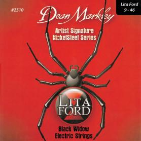 DEAN MARKLEY 2510 (2508LF) NICKELSTEEL LITA FORD SIGNATURE (09-46) Струны для гитары фото