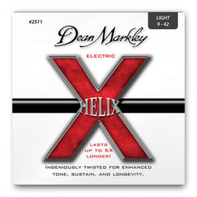 DEAN MARKLEY 2511 HELIX ELECTRIC LT (09-42) Струны фото