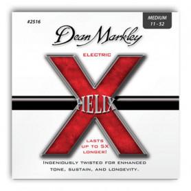 DEAN MARKLEY 2516 HELIX ELECTRIC MED (11-52) Струны фото