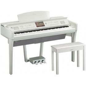 YAMAHA Clavinova CVP-709PWH Цифровое пианино фото