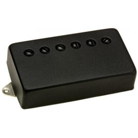 DIMARZIO GG1601BK HUMBUCKER PICKUP COVER F-SPACED (Black) Гитарная механика фото