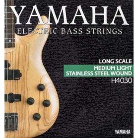 YAMAHA H4030 STAINLESS STEEL MEDIUM LIGHT 4 STRING (45-105) Струны фото