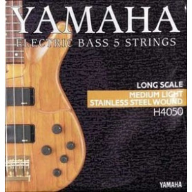 YAMAHA H4050 STAINLESS STEEL MEDIUM LIGHT 5 STRING (45-126) Струны фото
