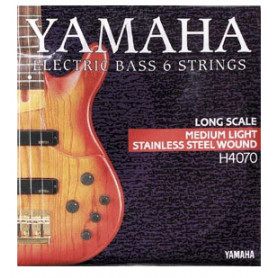 YAMAHA H4070 STAINLESS STEEL MEDIUM LIGHT 6 STRING (32-126) Струны фото