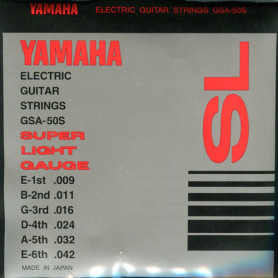 YAMAHA GSA50S ELECTRIC SUPER LIGHT (09-42) Струны фото