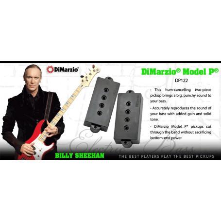 DIMARZIO DP122BK MODEL P (BLACK) Звукосниматель для гитары фото
