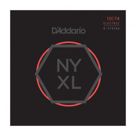 D`ADDARIO NYXL1074 NYXL LIGHT TOP / HEAVY BOTTOM 8-STRING 10-74 Струны фото