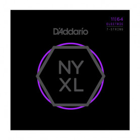 D`ADDARIO NYXL1164 NYXL MEDIUM 7-STRING 11-64 Струны фото