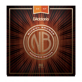 D`ADDARIO NB1047 NICKEL BRONZE EXTRA LIGHT 10-47 Струны фото