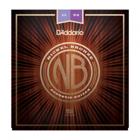 D`ADDARIO NB1152 NICKEL BRONZE CUSTOM LIGHT 11-52 Струны фото
