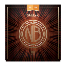D`ADDARIO NB1256 NICKEL BRONZE LIGHT TOP / MEDIUM BOTTOM 12-56 Струны фото