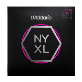 D`ADDARIO NYXL45130 REGULAR LIGHT 5 STRING 45-130 Струны фото
