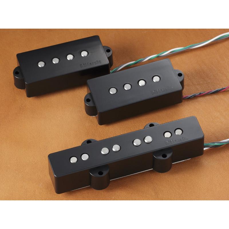 DIMARZIO DP251BK AREA P+J SET (BLACK) Звукосниматель для гитары фото