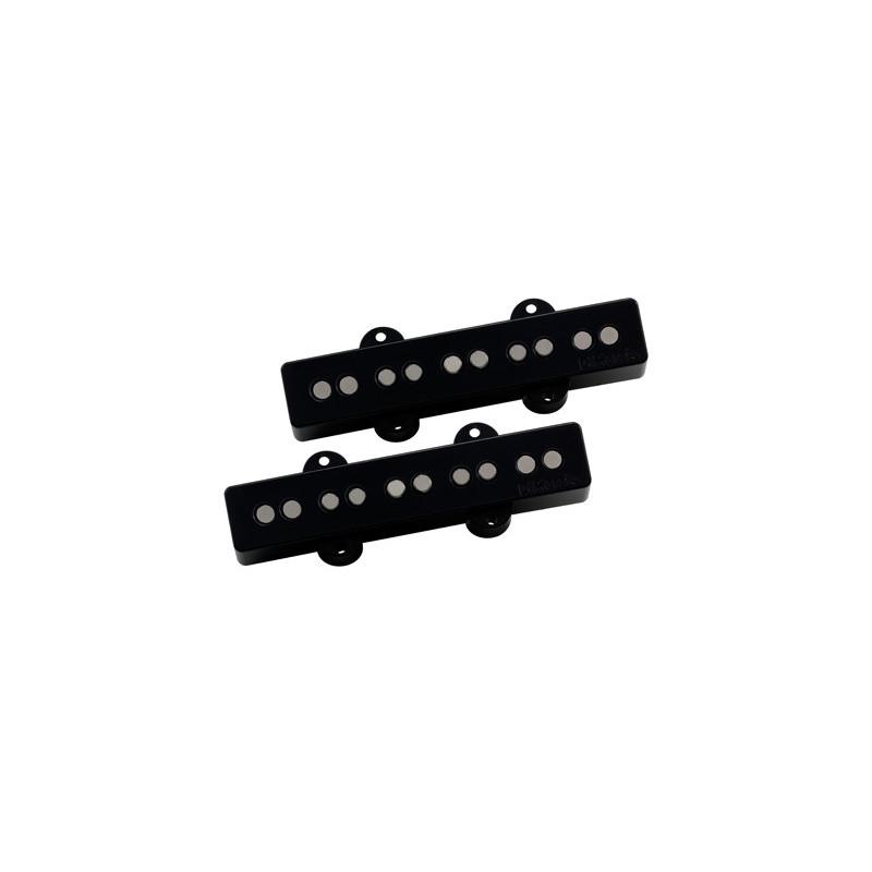 DIMARZIO DP549BK UltraJazz 5 Set (BLACK) Звукосниматель для гитары фото