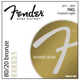 FENDER 70CL Струны для акустической гитары фото