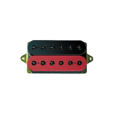DIMARZIO DP159FBR EVOLUTION BRIDGE F-SPACED (BLACK&RED) Звукосниматель для гитары фото