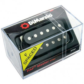 DIMARZIO DP261FBK PAF MASTER BRIDGE F-Spaced (Black) Звукосниматель для гитары фото