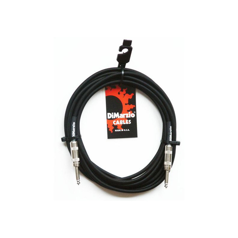 DIMARZIO EP1710SS INSTRUMENT CABLE 10ft (BLACK) Кабель гитарный фото