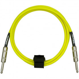 DIMARZIO EP1710SS INSTRUMENT CABLE 10ft (NEON YELLOW) Кабель гитарный фото