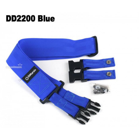 DIMARZIO DD2200 CLIPLOCK BLUE Ремень фото