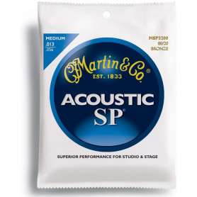 MARTIN MSP3200 SP Acoustic 80/20 Bronze Medium (13-56) Струны для гитары фото