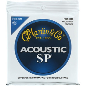 MARTIN MSP4200 SP Acoustic 92/8 Phosphor Bronze Medium (13-56) Струны для гитары фото