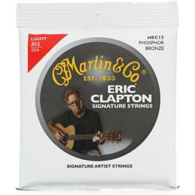 MARTIN MEC12 Clapton's Choice Phosphor Bronze Light (12-54) Струны для гитары фото