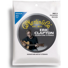 MARTIN MEC13 Clapton's Choice Phosphor Bronze Medium (13-56) Струны для гитары фото