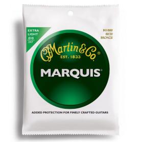 MARTIN M1000 Marquis 80/20 Bronze Extra Light (10-47) Струны для гитары фото