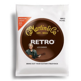 MARTIN MM13 Retro Medium/Light - LJ's Choice (13-56) Струны для гитары фото