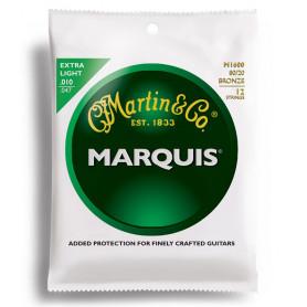 MARTIN M1600 Marquis 80/20 Bronze Extra Light 12-String (10-47) Струны для гитары фото