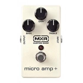 DUNLOP CSP233 MXR CUSTOM SHOP MICRO AMP+ Гитарный эффект бустер педаль фото