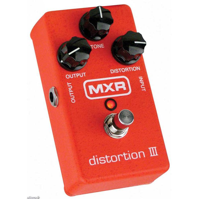 DUNLOP M115 MXR DISTORTION III Педаль эффектов фото