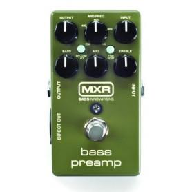 DUNLOP M81 MXR BASS PREAMP преамп педаль для бас-гитары фото