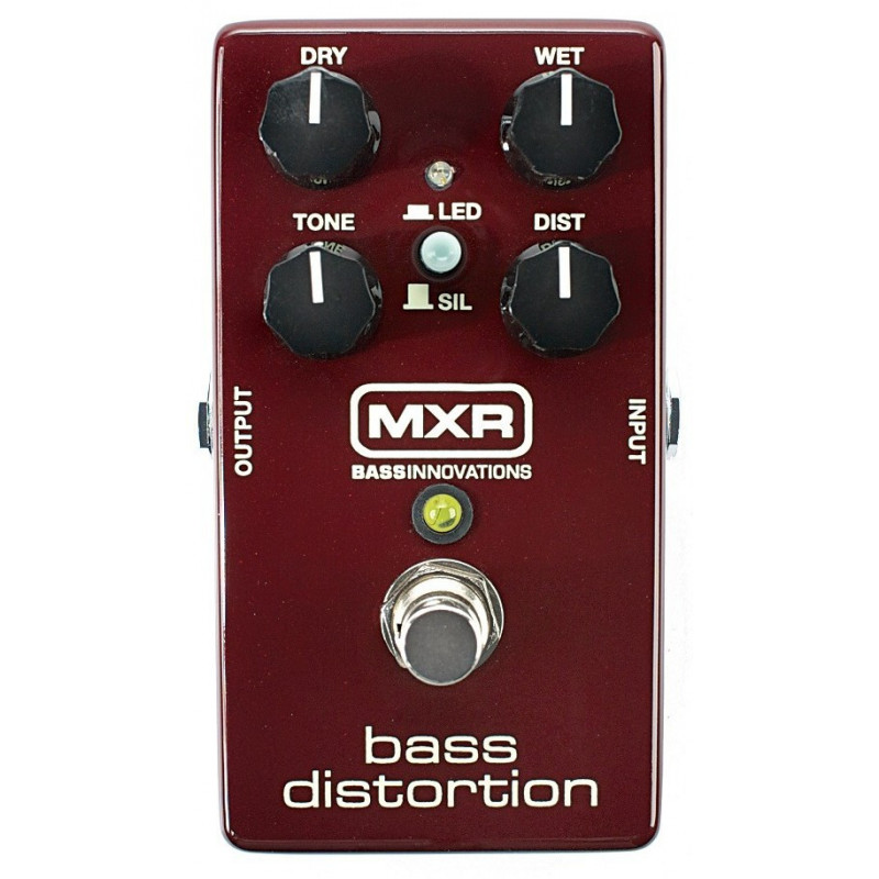 DUNLOP M85 MXR BASS DISTORTION Бас-гитарный эффект фото