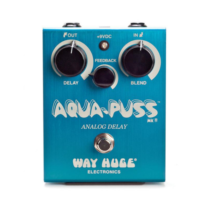 WAY HUGE AQUA PUSS MKII ANALOG DELAY Педаль эффектов фото