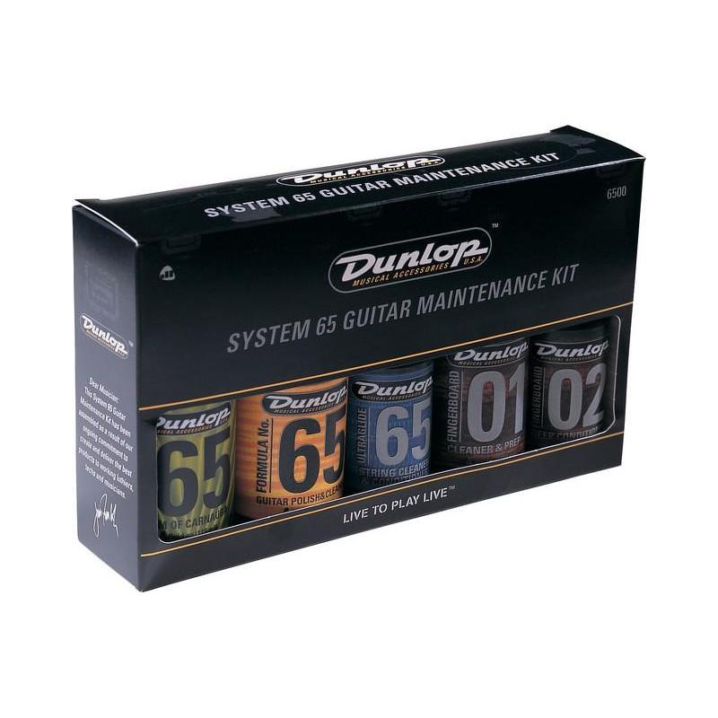 DUNLOP 6500 SYSTEM 65 GUITAR MAINTENANCE KIT Средство по уходу за гитарой фото