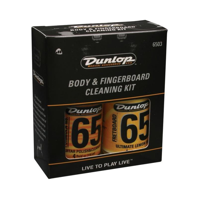 DUNLOP 6503 BODY AND FINGERBOARD CLEANING KIT Средство по уходу за гитарой фото